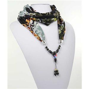 Collier Foulard Bijoux Polyester New Collection 2017 70999