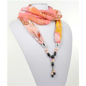 Collier Foulard Bijoux Polyester New Collection 71001