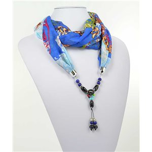 Collier Foulard Bijoux Polyester New Collection 2017 71002