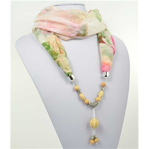 polyester scarf jewelry necklace new collection 2017 71012