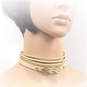Collier ras de cou Chic et Strass New Collection Choker L32-40cm 71701