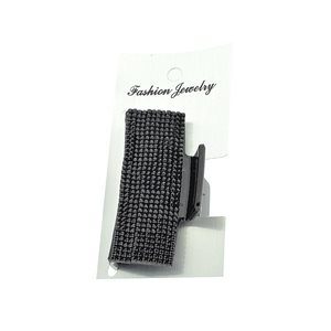 New Collection Black & Strass Hair Clip L6.5cm 71952