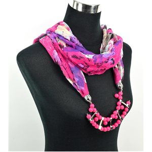 Polyester Jewelry Scarf Spring Collection 2017 71018