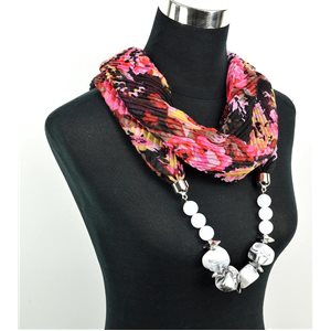 Polyester Jewelry Scarf Spring Collection 2017 71021