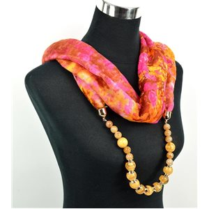 Polyester Jewelry Scarf Spring Collection 2017 71026