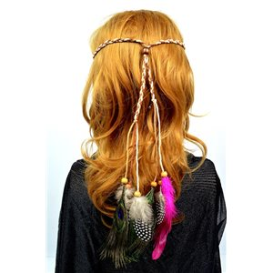 Headband à Plumes Diam max 22cm L20cm min Collection 71986