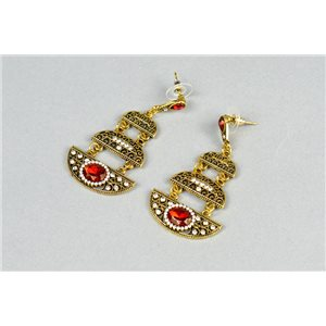 1p Boucles Oreilles à clou ATHENA New Collection Ethnique 73440