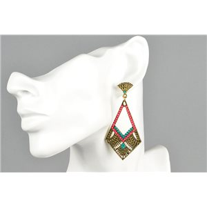 1p Stud Earrings ATHENA New Ethnic Collection 73446
