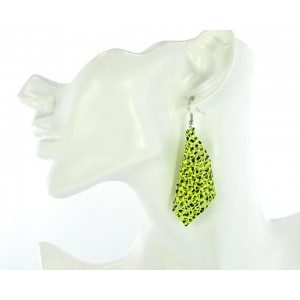 1p Ears Mesh Earrings Disco 64566