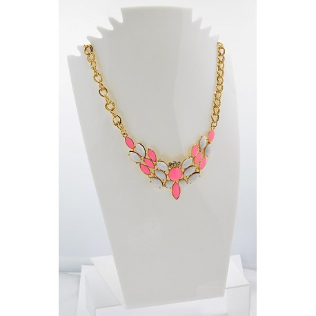 Collier ATHENA Princess Création Email et Strass 62143