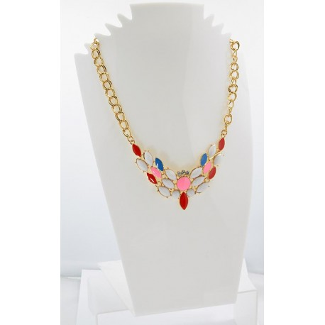 Collier ATHENA Princess Création Email et Strass 62144