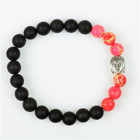 Tibetan Natural Stone Bracelet Buddha Collection 76110