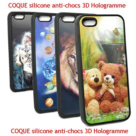 Show Room - COQUE silicone anti-chocs 3D Hologramme 76153