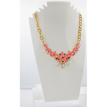 Collier ATHENA Princess Création Email et Strass 62155