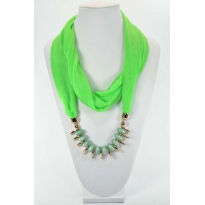 Scarf Necklace Jewelry New Collection 59640