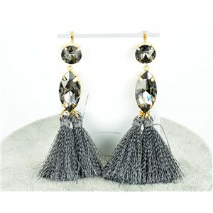 1p earring pendant earrings 9cm New Collection Pompon 2019 76685