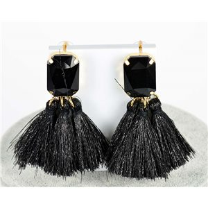 1p Boucles Oreilles Pendantes à clou 8cm New Collection Pompon 2019 76687