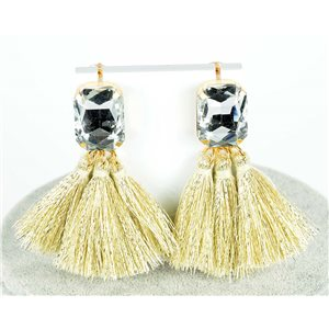 1p Earrings with studs 8cm New Collection Pompon 2019 76688