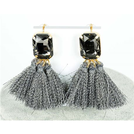 1p earring pendant earrings 8cm New Collection Pompon 2019 76689