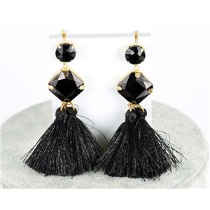 1p Boucles Oreilles Pendantes à clou 8cm New Collection Pompon 2019 76691