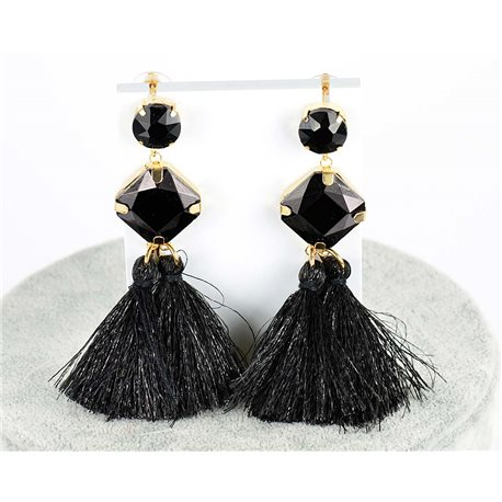 1p earring pendant earrings 8cm New Collection Pompon 2019 76691