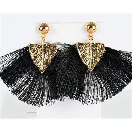 1p earring pendant earrings 8cm New Collection Pompon 2019 76719