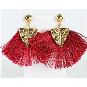 1p earring pendant earrings 8cm New Collection Pompon 2019 76720