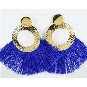1p Boucles Oreilles Pendantes à clou 8.5cm New Collection Pompon 2019 76718
