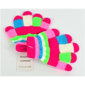 1p Kids Winter Glove in acrylic and spandex 64396