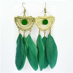 1p Earrings with hooks 10cm Original Collection Feathers 2019 76732