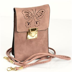 Women's Pouch Bag in PU Leather 11 * 17cm New Collection 77044