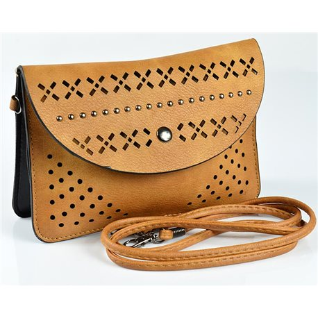 Women's Pouch Bag in PU Leather 19 * 13cm New Collection 77040