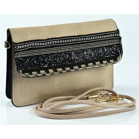 Women's Pouch Bag in PU Leather 19 * 13cm New Collection 77058