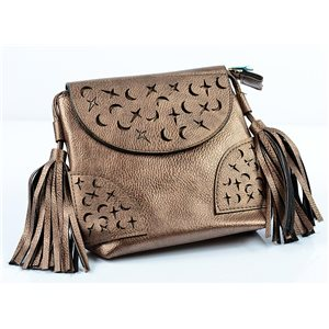 Women's PU Leather Pouch 18 * 18cm New Collection 77021