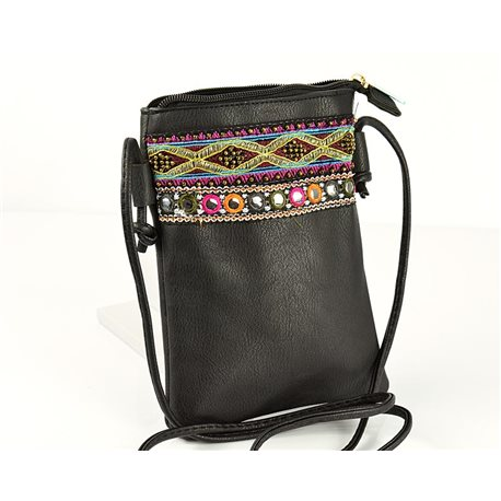 Women's Pouch Bag in PU Leather 13 * 19cm New Collection 77048