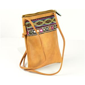 Women's Pouch Bag in PU Leather 13 * 19cm New Collection 77052