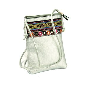 Women's Pouch Bag in PU Leather 13 * 19cm New Collection 77053