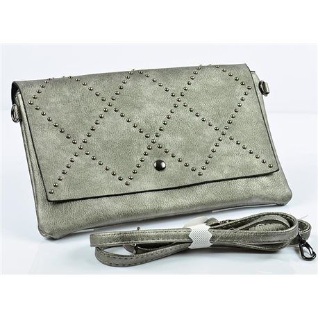 Women's Pouch Bag in PU Leather 27 * 16cm New Collection 77008