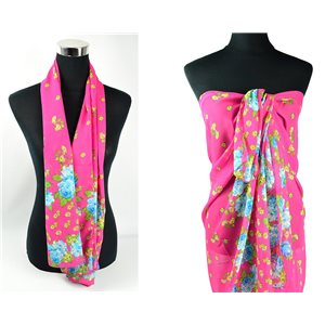 Scarf Pareo sail polyester 140cm-90cm New Summer Collection 77088
