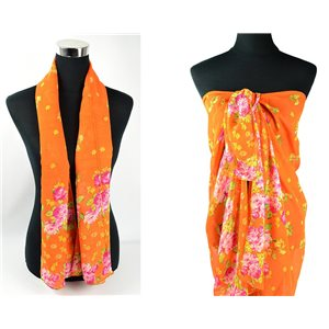 Scarf Pareo sail polyester 140cm-90cm New Summer Collection 77089