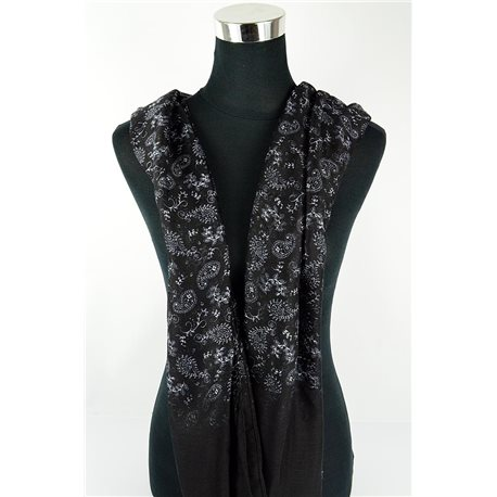 Polyester scarf 180cm-75cm New Summer Collection 77099