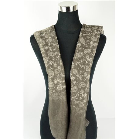 Foulard polyester 180cm-75cm New Collection Eté 77104