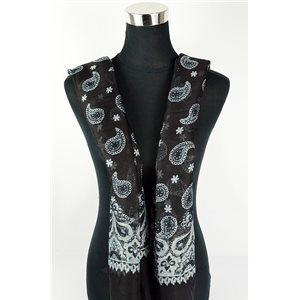 Polyester scarf 180cm-75cm New Summer Collection 77105
