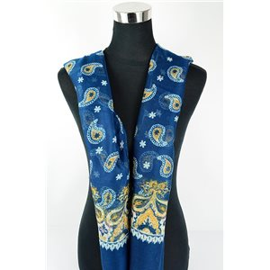 Foulard polyester 180cm-75cm New Collection Eté 77109