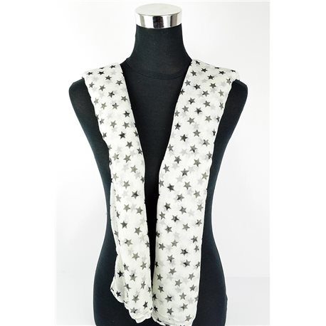 Polyester scarf 180cm-75cm New Summer Collection 77111