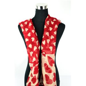 Polyester scarf 180cm-75cm New Summer Collection 77123