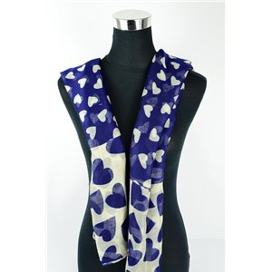 Foulard polyester 180cm-75cm New Collection 77125