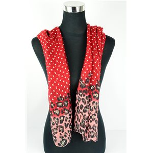 Polyester scarf 180cm-75cm New Summer Collection 77134