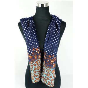 Polyester scarf 180cm-75cm New Summer Collection 77136