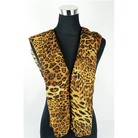 Polyester scarf 180cm-75cm New Summer Collection 77142
